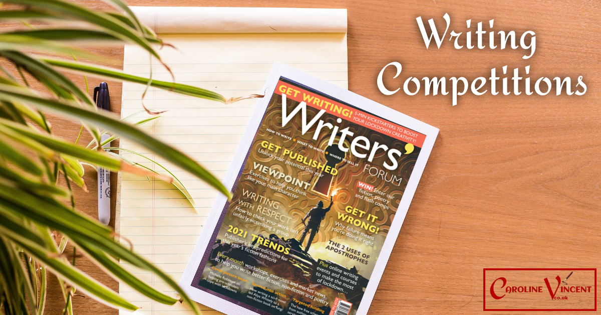 Writing Competitions Page Header