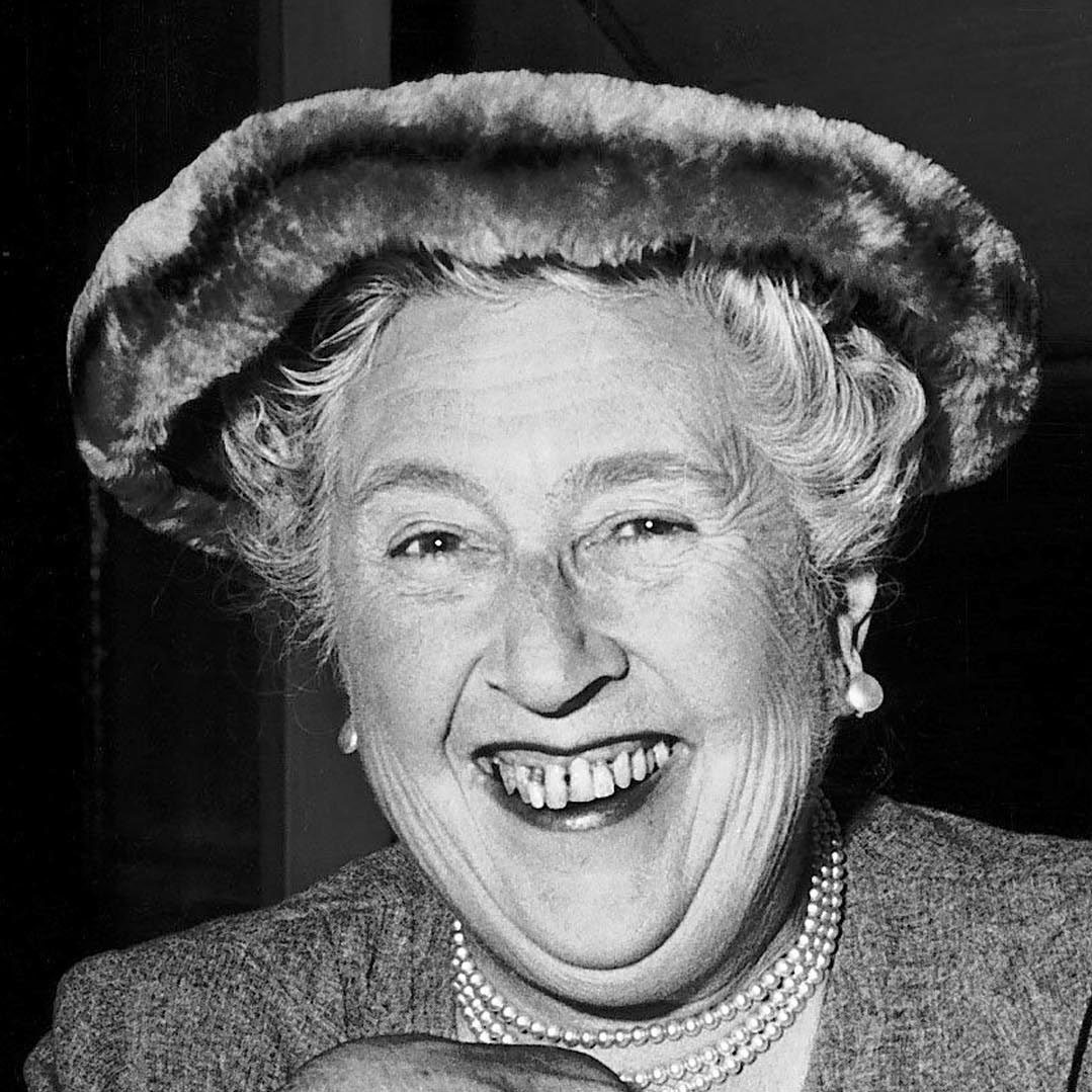 Agatha Christie famous author of crime novels (Newscom TagID: mrpphotos003283)     [Photo via Newscom]